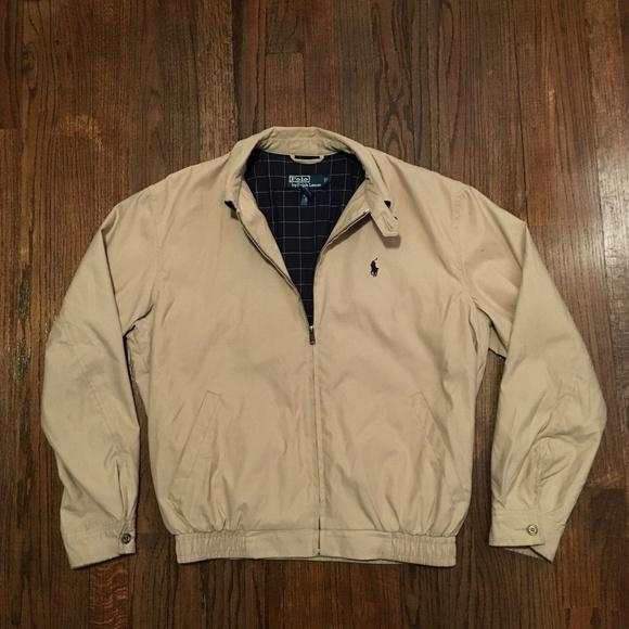 58f819baca7e Polo Lightweight Khaki Jacket. M 5a52fff031a376f6fc01c45c